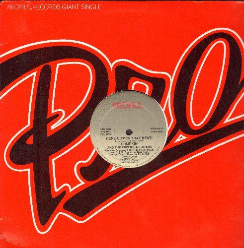 Pumpkin & The Profile All-Stars - Here Comes That Beat! (6:50 minutes)/Here Comes That Beat! (6:30 minutes Instrumental) (with Profile company cover) - NM9/ - Maxi Singles