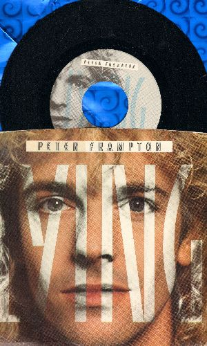 Frampton, Peter - Lying/Into View (with picture sleeve) - NM9/EX8 - 45 rpm Records