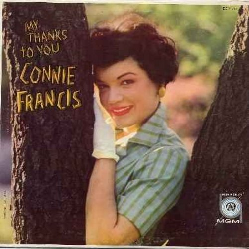 Francis, Connie - My Thanks To You: The Bells Of St. Mary's, The Very Thought Of You, Try A Little Tenderness, Goodnight Sweetheart (Vinyl MONO LP record) - NM9/EX8 - LP Records