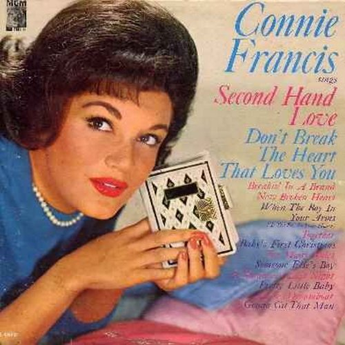 Francis, Connie - Connie Francis Sings Second Hand Love: Don't Break The Heart That Loves You, Someone Else's Boy (Schoener fremder Mann), Pretty Little Baby, Dreamboat (vinyl LP record) - NM9/EX8 - LP Records