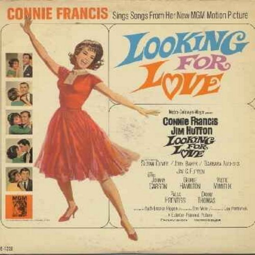 Francis, Connie - Looking For Love - Connie Francis sings songs from the original motion picture sound track (Vinyl MONO LP record) - NM9/VG7 - LP Records