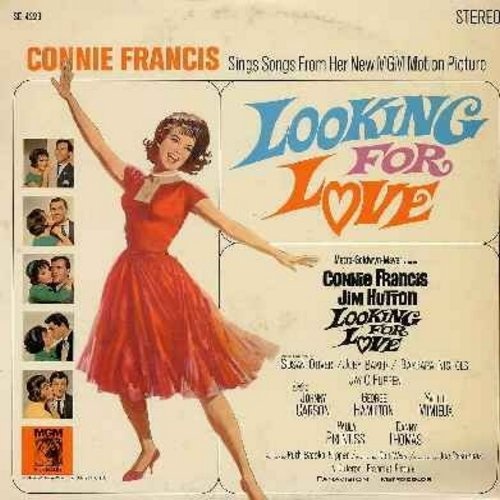 Francis, Connie - Looking For Love - Connie Francis sings songs from the original motion picture sound track (Vinyl STEREO LP record) - NM9/EX8 - LP Records