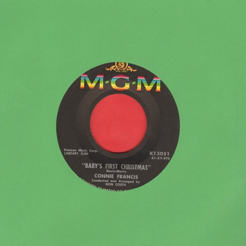 Francis, Connie - When The Boy In Your Arms (Is The Boy In Your Heart)/Baby's First Christmas - M10/ - 45 rpm Records