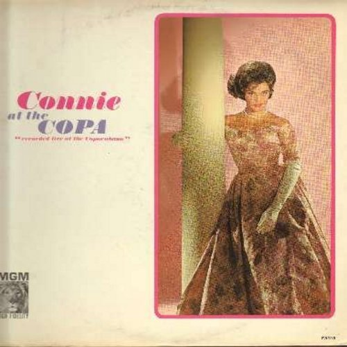 Francis, Connie - Connie Francis At The Copa: Many Tears Ago, You Always Hurt The One You Love, Mama, Al Jolson Medley, Ol' Man Mose (Vinyl MONO LP record) - NM9/EX8 - LP Records