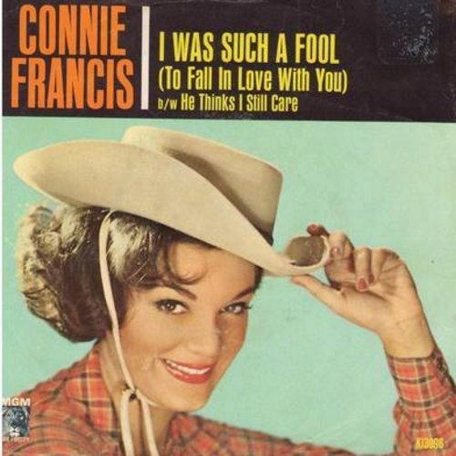 Francis, Connie - I Was Such A Fool/He Thinks I Still Love Him (with picture sleeve) - NM9/VG7 - 45 rpm Records