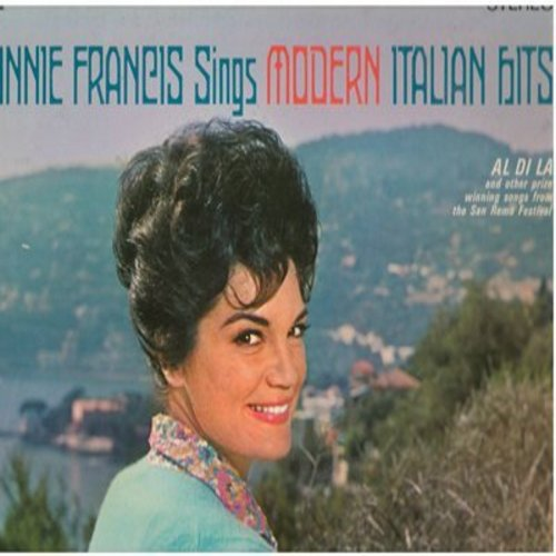 Francis, Connie - Connie Francis Sings Modern Italian Hits: Al Di La, Quando Quando Quando, Come Prima, 24 Mila Bacci, Addio Addio (Vinyl STEREO LP record) - VG7/EX8 - LP Records