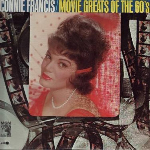 Francis, Connie - Movie Greats Of The 60s: Strangers In The Night, Somewhere My Love, The Phoenix Love Theme, Forget Domani, The Shadow Of Your Smile (Vinyl MONO LP record) - VG7/VG7 - LP Records