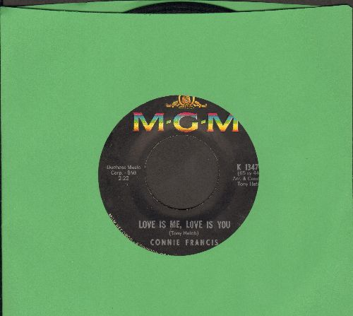 Francis, Connie - Love Is Me, Love Is You/I'd Let You Break My Heart All Over Again (sol) - EX8/ - 45 rpm Records