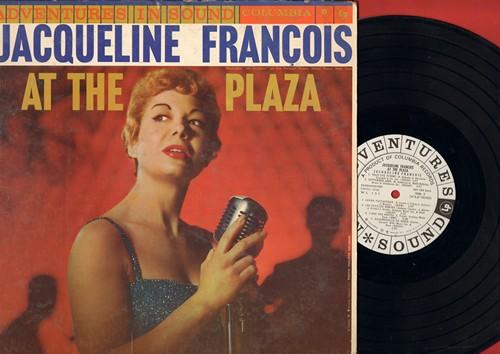 Francois, Jaqueline - At The Plaza: En Avril A Paris, Le Ciel, Lola, Hymne A L'amour, Mademoiselle De Paris (Vinyl MONO LP record, DJ advance pressing) - NM9/EX8 - LP Records