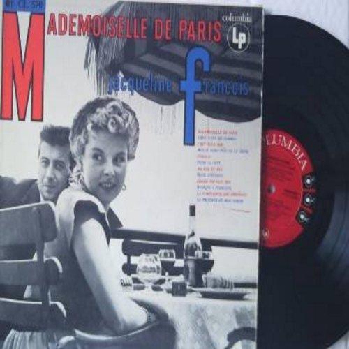 Francois, Jaqueline - Mademoiselle De Paris: Ma Rue Et Moi, Jamais Toi Sans Moi, Musique A Personne, La Province Et Mon Coeur (Vinyl MONO LP record, US Pressing, sung in French, red label, 6 white eyes) - NM9/NM9 - LP Records