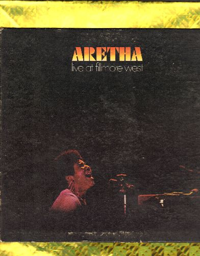 Franklin, Aretha - Aretha LIVE At Fillmore West: Respect, Eleanor Rigby, Dr. Feelgood, Don't Play That Song (vinyl STEREO LP record, gate-fold cover, wol) - VG6/EX8 - LP Records