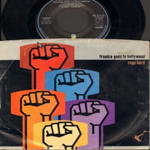 Frankie Goes To Hollywood - Rage Hard/(Don't Lose What's Left) Of Your Little Mind (with picture sleeve) - EX8/VG7 - 45 rpm Records
