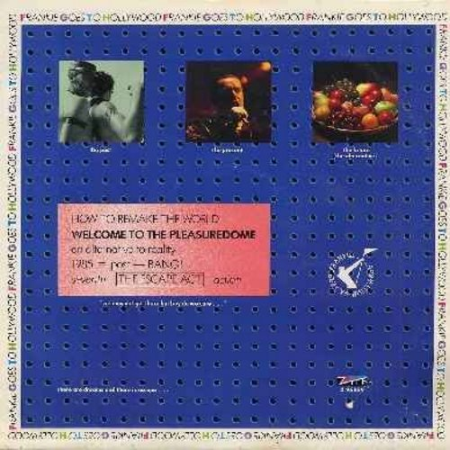 Frankie Goes To Hollywood - Welcome To The Pleasurdome (9:47 minutes Ectended Dance Version)/Get It On (Bang A Gong)/Happy Hi!/Relax International (4:52 minutes LIVE Version) (12 inch vinyl Maxi Single with picture cover) - EX8/EX8 - Maxi Singles