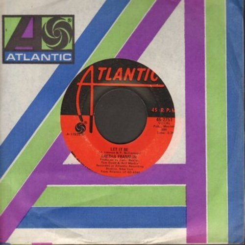 Franklin, Aretha - Let It Be/Don't Play That Song  - NM9/ - 45 rpm Records