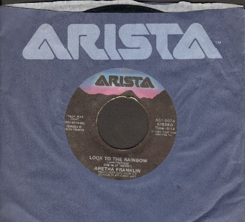 Franklin, Aretha - Look To The Rainbow/Rock-A-Lott (with Arista company sleeve) - EX8/ - 45 rpm Records