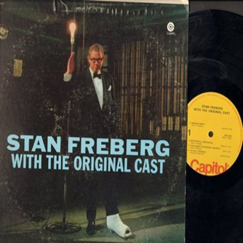 Freberg, Stan - With The Original Cast: Wun-erful Wun'erful, Green Christmas, Little Blue Ridong Hood, more!(Vinyl LP record) - NM9/VG7 - LP Records