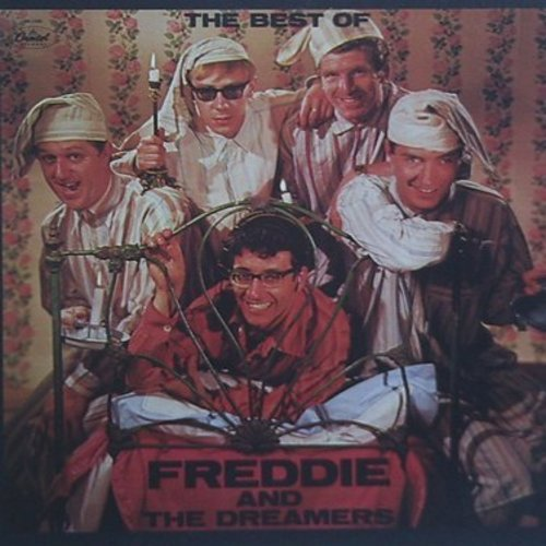 Freddie & The Dreamers - The Best Of: I'm Telling You Now, You Were Made For Me, Tell Me When, Just For You, I Understand (Vinyl MONO LP record, re-issue of vintage recordings) - NM9/EX8 - LP Records