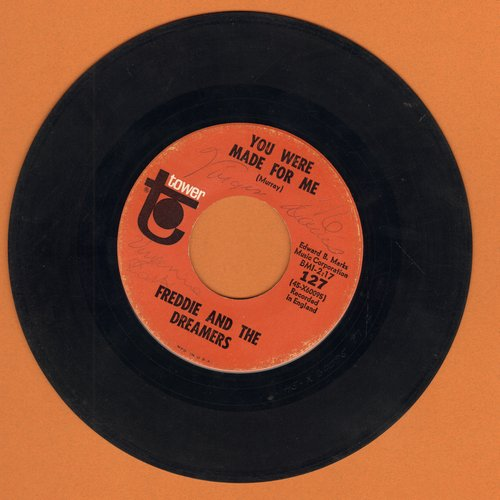 Freddie & The Dreamers - You Were Made For Me/So Fine by The Beat Merchants  - G5/ - 45 rpm Records