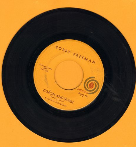 Freeman, Bobby - C'mon And Swim (Parts 1+2)  - NM9/ - 45 rpm Records
