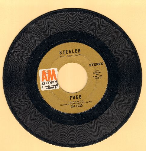 Free - Stealer/Lying In The Sunshine - EX8/ - 45 rpm Records