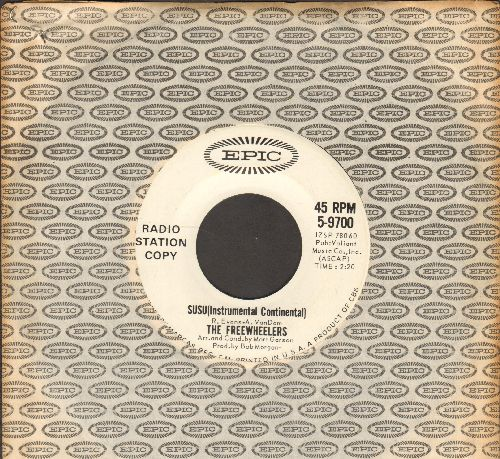 Freewheelers - San Francisco Bay Blues/Susu (Instrumental Continental)  (DJ advance pressing with Epic company sleeve) - NM9/ - 45 rpm Records