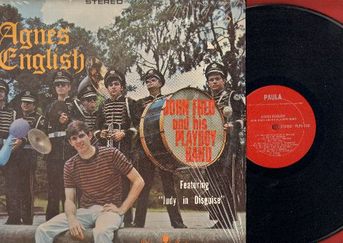 Fred, John & His Playboy Band - Agnes English: Jusy In Disguise With Glasses, Up And Down, When The Lights Go Out, Most Unlikely To Succeed (Vinyl STEREO LP record, red label Canadian Pressing) - M10/NM9 - LP Records