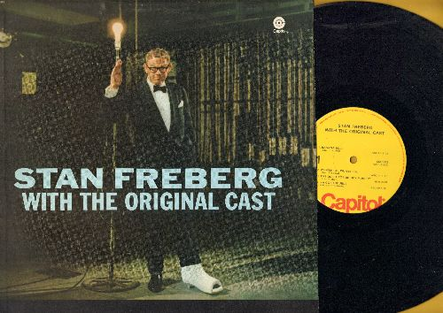 Freberg, Stan - With The Original Cast: Wun-erful Wun'erful, Green Christmas, Little Blue Ridong Hood, more! (vinyl LP record, re-issue of vintage recodings) - NM9/NM9 - LP Records