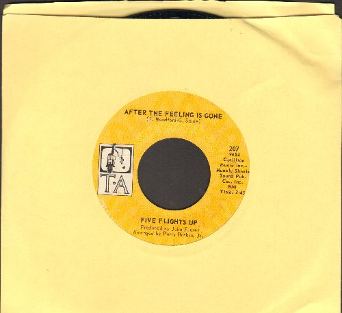 Five Flighta Up - After The Feeling Is Gone/Where Are You Going, Girl? - EX8/ - 45 rpm Records