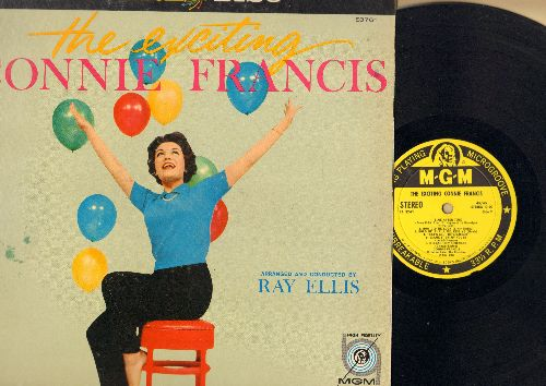 Francis, Connie - The Exciting Connie Francis: Come Rain Or Come Shine, Hold Me - Thrill Me - Kiss Me, Melancholy Serenade, Rock-A-Bye Your Baby With A Dixie Melody (RARE yellow label STEREO first issue) - NM9/EX8 - LP Records