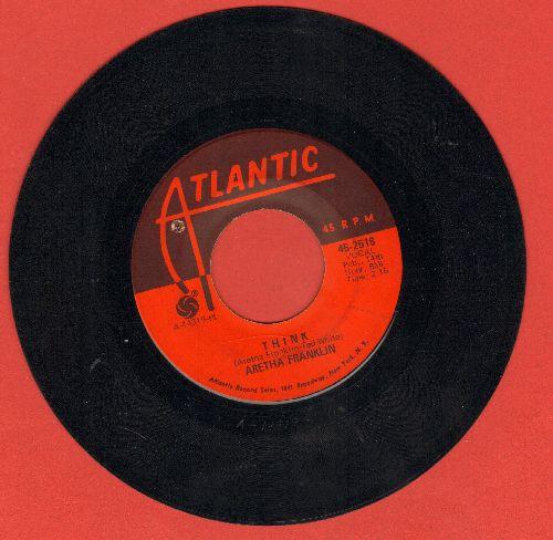 Franklin, Aretha - Think/You Send Me (bb) - VG7/ - 45 rpm Records