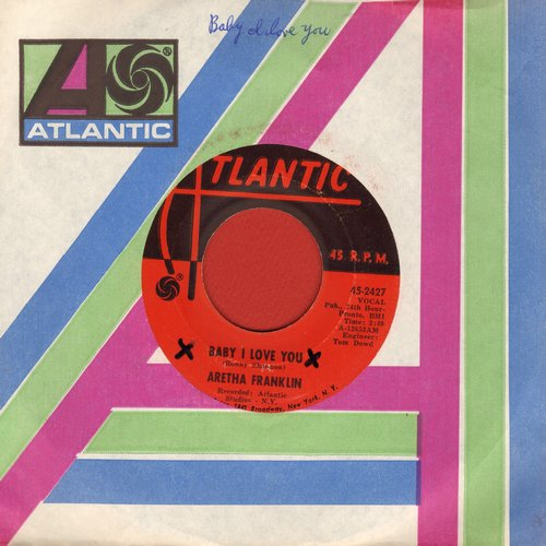Franklin, Aretha - Baby I Love You/Going Down Slow - EX8/ - 45 rpm Records