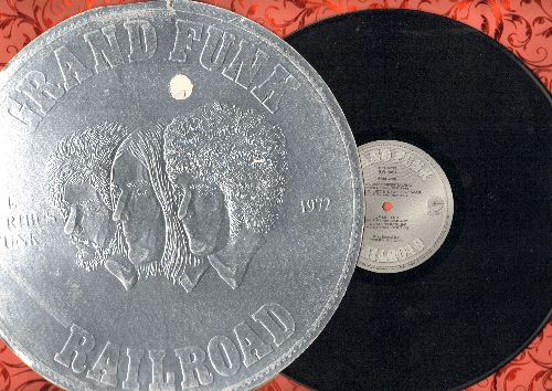 Grand Funk Railroad - E Pluribus Funk: Footstompin' Music, People Let's Stop The War, Save The Land, No Lies (vinyl STEREO LP record) - VG7/VG7 - LP Records
