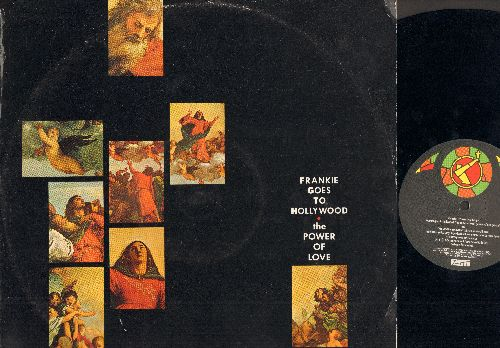 Frankie Goes To Hollywood - The Power Of Love: The Power Of Love, The World Is My Oyster, Holier Than Thou, The World Is My Oyster (Vinyl Maxi Record) (Cutout corner cover) - NM9/VG7 - Maxi Singles