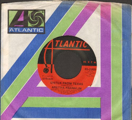 Franklin, Aretha - Sister From Texas/Angel (with Atlantic company sleeve) - EX8/ - 45 rpm Records