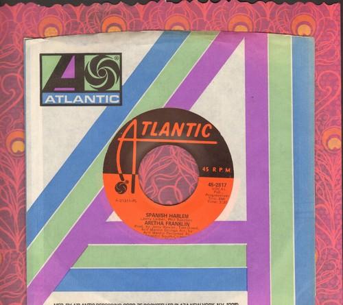 Franklin, Aretha - Spanish Harlem/Lean On Me - EX8/ - 45 rpm Records