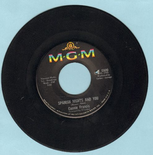 Francis, Connie - Games That Lovers Play/Spanish Nights And You (bb) - EX8/ - 45 rpm Records