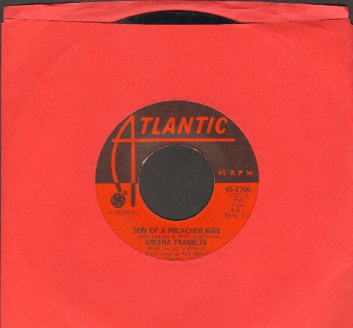 Franklin, Aretha - Son Of A Preacher Man/Call Me  - VG7/ - 45 rpm Records