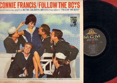 Francis, Connie - Follow The Boys - Connie Francis Sings Songs From The Original Motion Picture Sound Track (vinyl MONO LP record) - NM9/G5 - LP Records