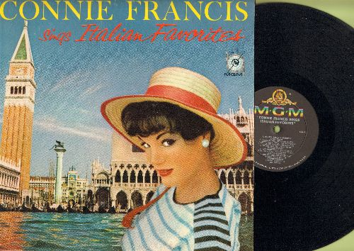 Francis, Connie - Sings Italian Favorites: Ciao Ciao Bambina, Mama, Santa Lucia, Comm'E Bella A Stagione, Arrivederci Roma, Volare (sung in Italian and English) (Vinyl MONO LP record) - EX8/EX8 - LP Records
