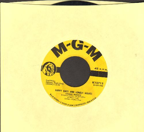 Francis, Connie - Happy Days And Lonely Nights/Fallin' - VG7/ - 45 rpm Records