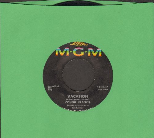 Francis, Connie - V-A-C-A-T-I-O-N/The Biggest Sin Of All, The  - VG7/ - 45 rpm Records