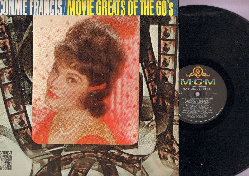 Francis, Connie - Movie Greats Of The 60s: Strangers In The Night, Somewhere My Love, The Phoenix Love Theme, Forget Domani, The Shadow Of Your Smile (Vinyl MONO LP record) - NM9/EX8 - LP Records