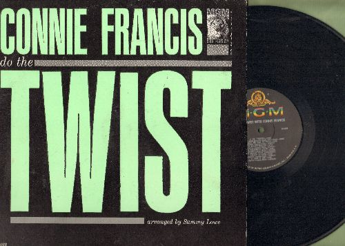 Francis, Connie - Do The Twist: Mr. Twister, Teach Me How To Twist, Kiss 'N' Twist (Tarantella), My Real Happiness, Hey Ring-A-Ding (Vinyl MONO LP record) - NM9/EX8 - LP Records