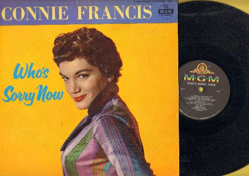 Francis, Connie - Who's Sorry Now: Heartaches, I Miss You So, How Deep Is The Ocean, My Melancholy Baby, You Always Hurt The One You Love (Vinyl MONO LP record) - EX8/EX8 - LP Records