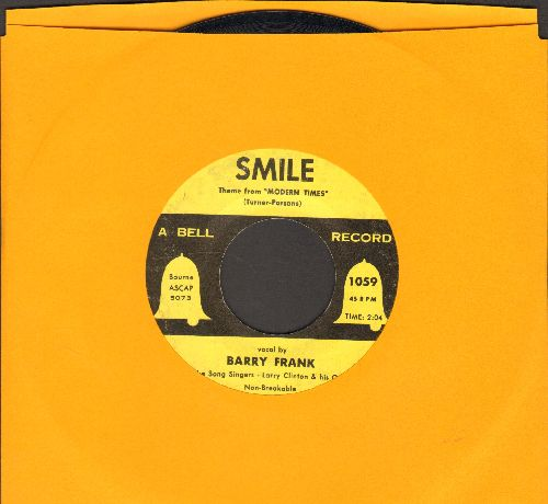 Frank, Barry - Smile/If I Give My Heart To You - VG7/ - 45 rpm Records