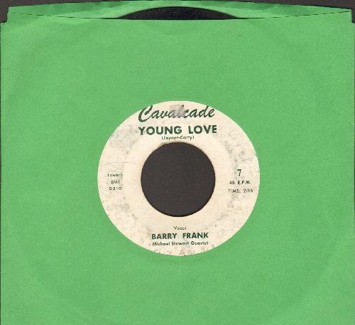 Frank, Barry - Young Love/Don't Forbid Me (by Ray Buckingham on flip-side) - VG6/ - 45 rpm Records