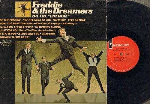 Freddie & The Dreamers - Do The Freddie: Don't Do That To Me, Little Bitty Pretty One, Just For You (vinyl MONO LP record) - VG7/VG7 - LP Records
