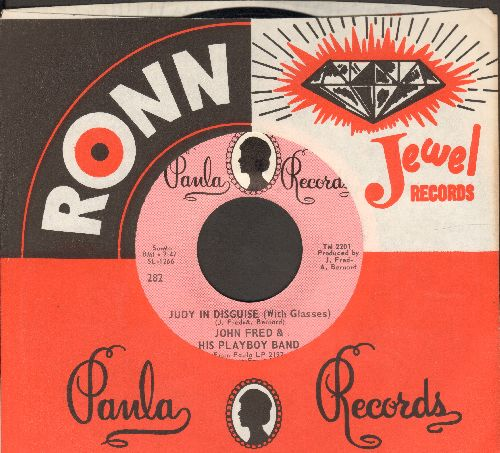 Fred, John & His Playboy Band - Judy In Disguise (With Glasses)/When The Lights Go Out (MINT condition with Paula company sleeve) - M10/ - 45 rpm Records