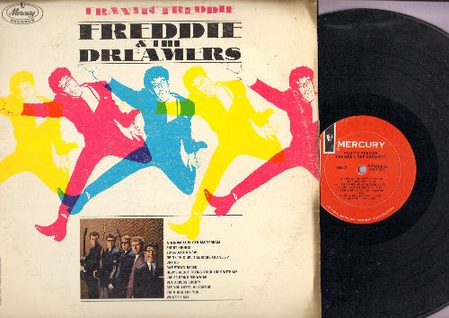 Freddie & The Dreamers - Frantic Freddie: Short Shorts, Camptown Races, How's About Trying Your Luck With Me, Cut Across Shorty, See You Later Alligator (vinyl MONO LP record) - NM9/VG7 - LP Records