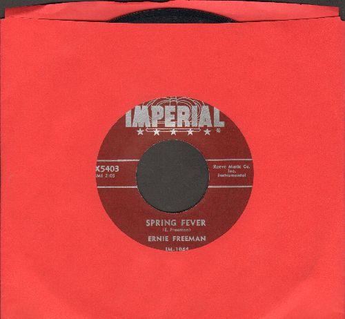 Freeman, Ernie - Spring Fever/Walking The Beat - EX8/ - 45 rpm Records